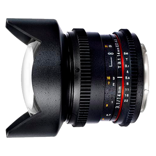 Объектив Samyang 14mm T3.1 ED AS IF UMC VDSLR Canon EF